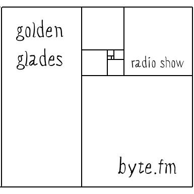 Golden Glades radio show ByteFM Geschwistersache