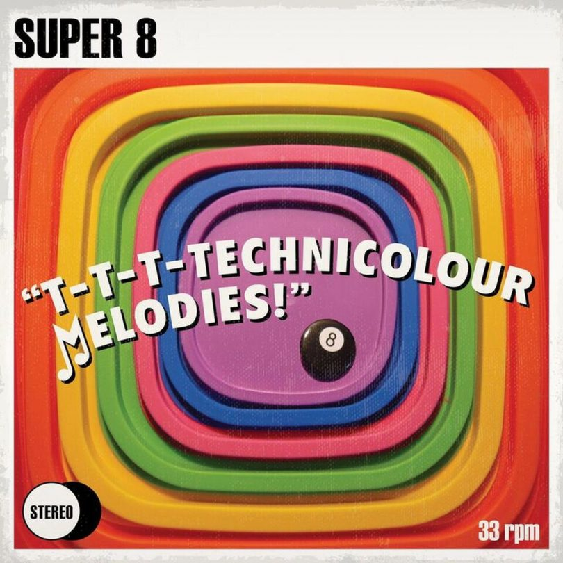Super 8 Interview Futureman power pop BMX Bandits one-man band