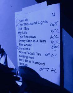 Setlist Teenage Fanclub
